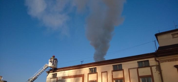 Pożar Hotelu Centralny w Bydgoszczy